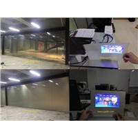 High quality smart glass for rear projection