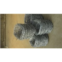 Single & Double Strand Barbed Wire 2.8mm Line with IOWA Type