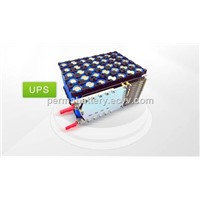 UPS Battery Pack Li-ion 18650 7S5P 25.9V 13Ah with PCM and Plast Holder