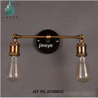 Brass 1 Light Wall Sconce with mental Cage wall lamp deco wall lamp