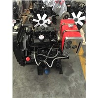 35hp 2 cylinder hydraulic pump diesel engine