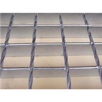 Drainage Channel Hot Dipped Galvanize Serrated Steel Grating for Trench Cover