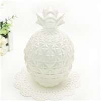 Pineapple Glass Candle Jar