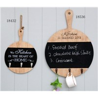 wood  chalkboard for kitchen