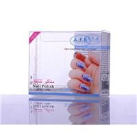 Hot Sale Custom Plastic Nail Polish Box