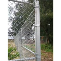 ISO certificate galvanized heavy duty cheap chain link fence