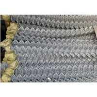 Heavy Duty 9gauge 50x50mm Ral 6005 Green Color Steel Wire Chain Link Fence with Brace