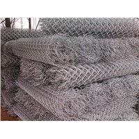 High Quality Galvanized And PVC Coated Chain Link Fence