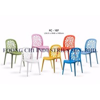 Plastic Modern Fancy Cafe, Restaurant, Dinning Chair