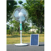 Long Life Brushless DC Motor Table Fan, Solar Powered Stand FAN 16""