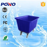 China factory direct sale CE &ISO approved multi-functional plastic laundry trolley