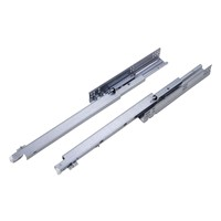 Full extension undermount drawer slide with soft closing,(with plastic adjusting pin)