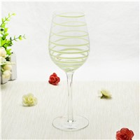Glass Wine Cup Hand Made Glass Goblet