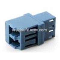 Optical Fiber Adapter LC-LC Duplex Step Type