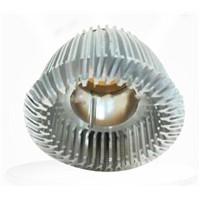 LED Heat Sink Aluminium Die Castings , Silver Lighting Die Casting Mould