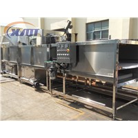 spraying cooling machine system for bottles and cans/bottle warming machine