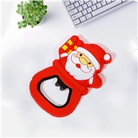 Santa bottle opener for custom christmas promotional gift 2016