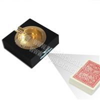 XF Black Ashtray Infrared Camera With Double Camera For Poker Analyzer