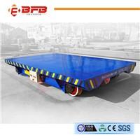 Heavy duty workshop carriage rail transfer wagon for trailer
