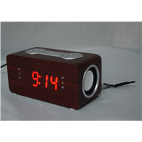 radio with clock,bluetooth speaker