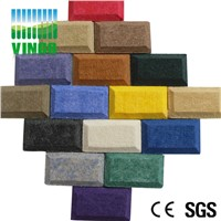 strong decoration for wall or ceiling polyester fiber acoustic panel