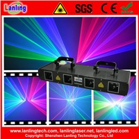 L2500RGBB 450mW RGBB Four Tunnel Laser Show System