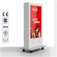 84 Inchwaterproof Digital Outdoor Monitors, High Brightness Outdoor Digital Signage for Advertising