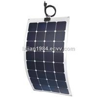 100W Semi-Flexible Solar Panel