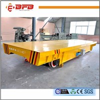 ISO certification China factory electric vehicle rail transfer wagon