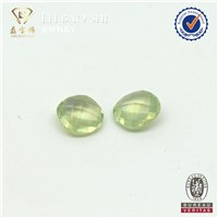 Green natural stone Grapestone round shape Natural Prehnite