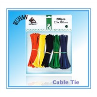 Blister Packing Cable Ties from Wuhan MZ Electronic