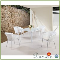 Rattan Hotel Patio Garden Sets Furniture Table And Chairs