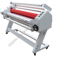 1600XB auto hot laminator with cutting system