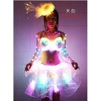 Led Costume Belly Dance Dress