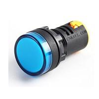LED Pilot Lamp Signal Light Indicator 22mm AD26B-22DS Blue