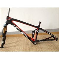 New FELT EDICT SIX Suspension Mountain XC Frame Full-Carbon