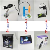 Shenzhen Unimake Factory Universal USB Digital Electronic Microscope 200X/500X/800X/1000X/1600X