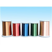 Copper Clad Aluminum Wire High Conductivity Magnet Wire AWG Enameled Copper 100 Feet Coil