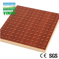 perforated acoustic panel MDF board high density board for wall or ceiling