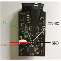 FST-20m laser distance module TTL Output 3.3V Power supply