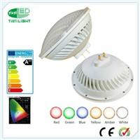 USA Plug&Socket Swimming Pool PAR56 LED Light Bulb Amber 36W 12V 120V IP68 Waterproof UL FCC Listed