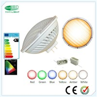 GX16D PAR56 LED Pool Light RGB with Controller Synchronizing 36W Plastic with Aluminum Housing