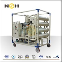 Double Stage Vacuum Transformer Oil Regeneration Machine
