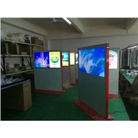 65 Inch Standing Touch Kiosk for School, Standing Display