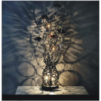 Luxury decor crystal table lamp