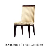 Popular New design louis antique dining chair in hotel dining furniture