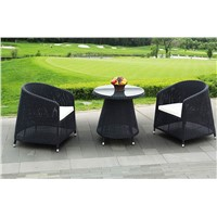 Outdoor Garden Poly Rattan chair and table