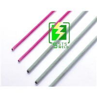 RBCuZn-C Low Fuming Flux Coated brass soldering welding wire rod/Flux Coated Copper Brass Wire