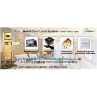 Hotel card door lock mifare card door lock temic card door locks