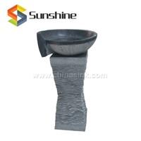 Bluestone Natural Stone Pedestal Sink